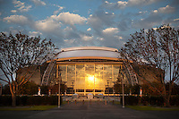 06 November 2011: Exterior image of Cowboy Stadium, home to the Dallas Cowboys in Arlington, TX.