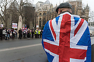 London - Brexit Protest in Westminister - 23 Jan 2017
