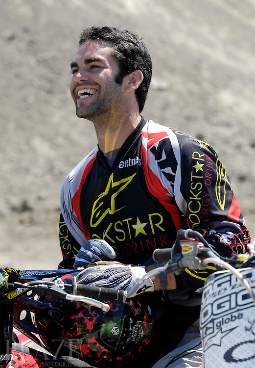 Todd Potter at the FMX Finals at the AST Dew Tour Right Guard Open in Cleveland...Photo by Ken Blaze