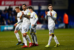Bradley Johnson of Derby County & Tom Lawrence of Derby County at the final whistle  - Mandatory by-line: Phil Chaplin/JMP - 13/02/2019 - FOOTBALL - Portman Road - Ipswich, England - Ipswich Town v Derby County - Sky Bet Championship