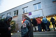 Tagesaufenthaltsstätte (TAS) in der Bundesstraße. In der TAS können Obdachlose essen, Post empfangen und ihre Wäsche waschen.