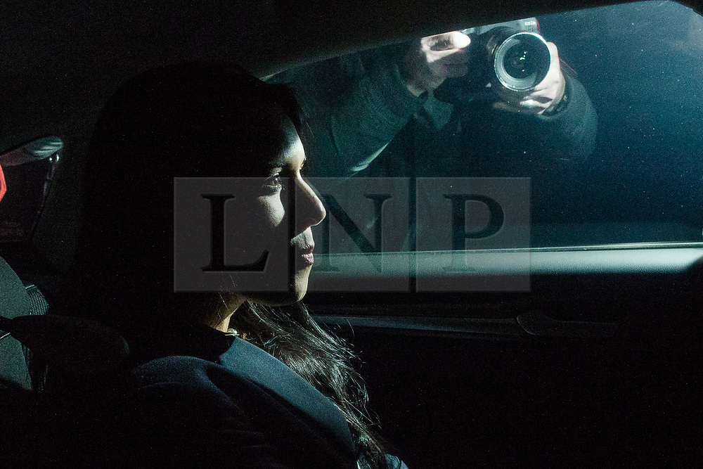 © Licensed to London News Pictures. 08/11/2017. London, UK. Secretary of State for International Development Priti Patel leaves 10 Downing Street after meeting with Prime Minister Theresa May. Photo credit: Rob Pinney/LNP