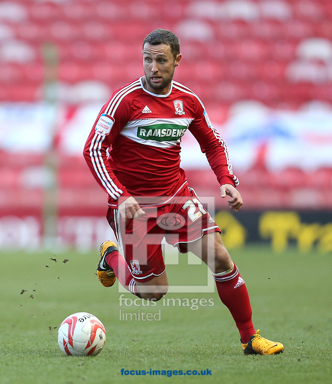 Picture by Paul Gaythorpe/Focus Images Ltd +447771 871632.16/03/2013.Scott McDonald of Middlesbrough during the npower Championship match at the Riverside Stadium, Middlesbrough.