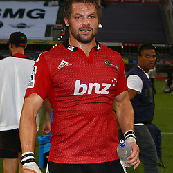 DURBAN, SOUTH AFRICA - APRIL 04:  Richie McCaw during the Super Rugby match between Cell C Sharks and Crusaders at Growthpoint Kings Park on April 04, 2015 in Durban, South Africa. (Photo by Steve Haag/Gallo Images)