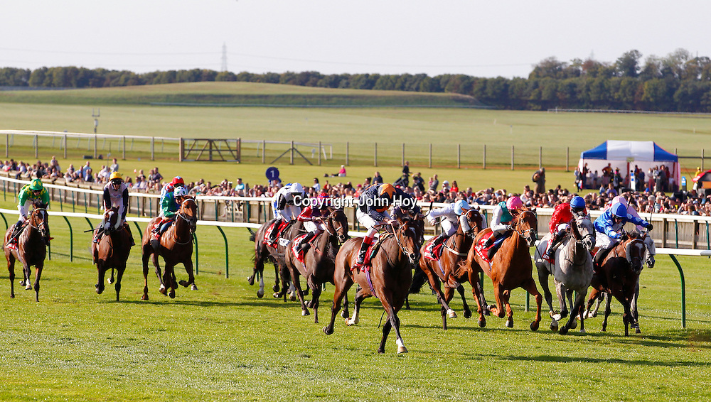Educate and Johnny Murtagh winning the 3.50 race