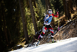 Katharina Innerhofer (AUT) during the Women 15 km Individual Competition at day 2 of IBU Biathlon World Cup 2019/20 Pokljuka, on January 23, 2020 in Rudno polje, Pokljuka, Pokljuka, Slovenia. Photo by Peter Podobnik / Sportida