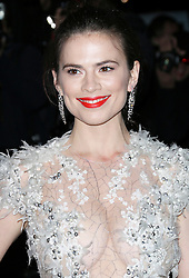 © Licensed to London News Pictures. Hayley Atwell attending the London Evening Standard Theatre Awards at the The Savoy Hotel in London, UK on 17 November 2013. Photo credit: Richard Goldschmidt/PiQtured/LNP