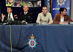 ©London News pictures. 21/03/11. A press conference with members of Sian O'Callaghan's family. A massive police hunt was underway in a forest last night as fears grew over the disappearance of a woman who has not been seen for two days. Sian O'Callaghan, 22, was last seen at a nightclub in Swindon. Picture Credit should read Stephen Simpson/LNP