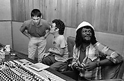 Ian Dury and Chas Jankell with Sly and Robbie - Nassua 1981