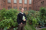 "Max Kenner at the garden at the Woodbourne Correctional Facility. Carlos Rosario, one of the students in the Bard College program, which Max initiated, started creating the garden in order to have fresh vegetables at the prison...Story: The Bard Prison Initiative.Former inmate Carlos Rosario, 35-year-old husband and father of four, was released from Woodbourne Correctional Facility after serving more than 12 years for armed robbery. Rosado is one of the students participating in the Bard Prison Initiative, a privately-funded program that offers inmates at five New York State prisons the opportunity to work toward a college degree from Bard College. The program, which is the brainchild of alumnus Max Kenner, is competitive, accepting only 15 new students at each facility every other year. .Carlos Rosario received the Bachelor of Arts degree in social studies from the prestigious College Saturday, just a few days after his release. He had been working on it for the last six years. His senior thesis was titled ""The Diet of Punishment: Prison Food and Penal Practice in the Post-Rehabilitative Era,"".Rosado is credited with developing a garden in one of the few green spaces inside the otherwise cement-heavy prison. In the two years since the garden's foundation, it has provided some of the only access the prison's 800 inmates have to fresh vegetables and fruit...Rosario now works for a recycling company in Poughkeepsie, N.Y...Photo © Stefan Falke"