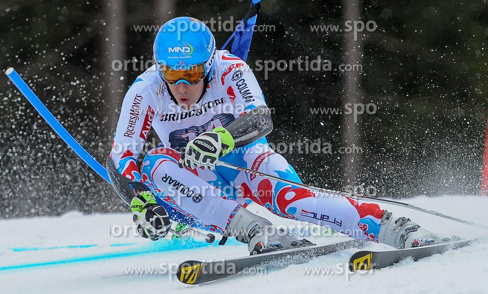 01.03.2015, Kandahar, Garmisch Partenkirchen, GER, FIS Weltcup Ski Alpin, Garmisch Partenkirchen, Riesenslalom, Herren, 1. Lauf, im Bild Victor Muffat-Jeandet (FRA) // Victor Muffat-Jeandet of France in action during 1st run for the men's Giant Slalom of the FIS Ski Alpine World Cup at the Kandahar in Garmisch Partenkirchen, Germany on 2015/03/01. EXPA Pictures © 2015, PhotoCredit: EXPA/ Erich Spiess