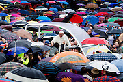Vatican City may 14 th 2016, jubilee audience in St Peter's Square. In the picture Pope Francis