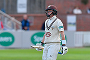 Ollie Pope of Surrey during the opening day of the Specsavers County Champ Div 1 match between Somerset County Cricket Club and Surrey County Cricket Club at the Cooper Associates County Ground, Taunton, United Kingdom on 18 September 2018.