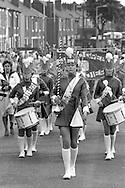 Jazz Band, 1985 Yorkshire Miner's Gala. Rotherham.