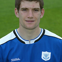 St Johnstone photocall 2004-2005 season.<br />Sean Webb<br /><br />Picture by Graeme Hart.<br />Copyright Perthshire Picture Agency<br />Tel: 01738 623350  Mobile: 07990 594431