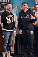 Final Press Conference For Canelo Alvarez vs Gennady Golovkin - 13 Sept 2017