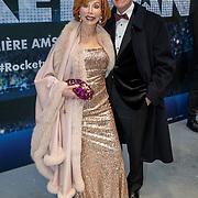 NLD/Amsterdam/20190521 - Première Rocketman, Marijke Helwegen en partner Harry