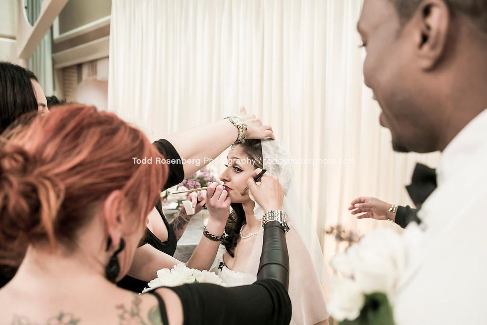 5/21/13 9:44:33 AM .The wedding of April and Sakou on Windy City Live... . © Todd Rosenberg Photography 2013