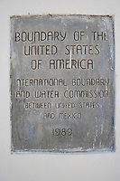 Boundry of Texas, New Mexico and Chihuahua, Mexico.