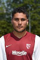Jose Luis PALOMINO - 01.08.2014 - Photo Officielle de Metz -<br /> Photo : Fred Marvaux / Icon Sport