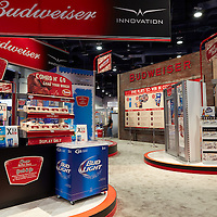 ITC Budweiser booth .