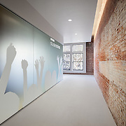 Interior of Studentfirst Non-Profit headquartered in Downtown Sacramento, CA. Office infrastructure- architectural and Interior Photography example of Chip Allen's work.