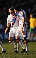 London - Friday, December 26th, 2008: Jose Fonte of Crystal Palace celebrates his 2nd goal to make it 2 -1 during the Coca Cola Championship match at Selhurst Park, London. (Pic by Alex Broadway/Focus Images)