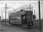 18/9/1952<br /> 9/18/1952<br /> 18 September 1952<br /> <br /> Howth Tram Driver Mr. Christy Hanway