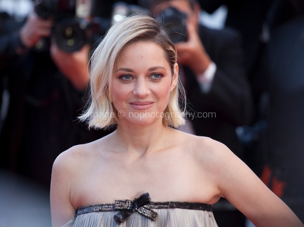 Actress Marion Cotillard at the Le Grand Bain (Sink Or Swim) gala screening at the 71st Cannes Film Festival, Sunday 13th May 2018, Cannes, France. Photo credit: Doreen Kennedy