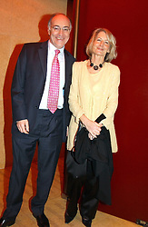 Leader of the Conservative party MICHAEL HOWARD and his wife SANDRA at a fund raising dinner hosted by Marco Pierre White and Frankie Dettori's in aid of Conservative Party's General Election Campaign Fund held at Frankie's No.3 Yeoman's Row,æLondon SW3 on 17th January 2005.<br />