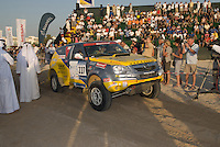 Dubai rally start. Dubai, one of the seven emirates and the most populous of the United Arab Emirates sits on the southern coast of the Persian gulf.