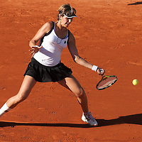 30 May 2009: Maria Jose Martinez Sanchez of Spain hits a forehand during the the Women's Third Round match on day seven of the French Open at Roland Garros in Paris, France.