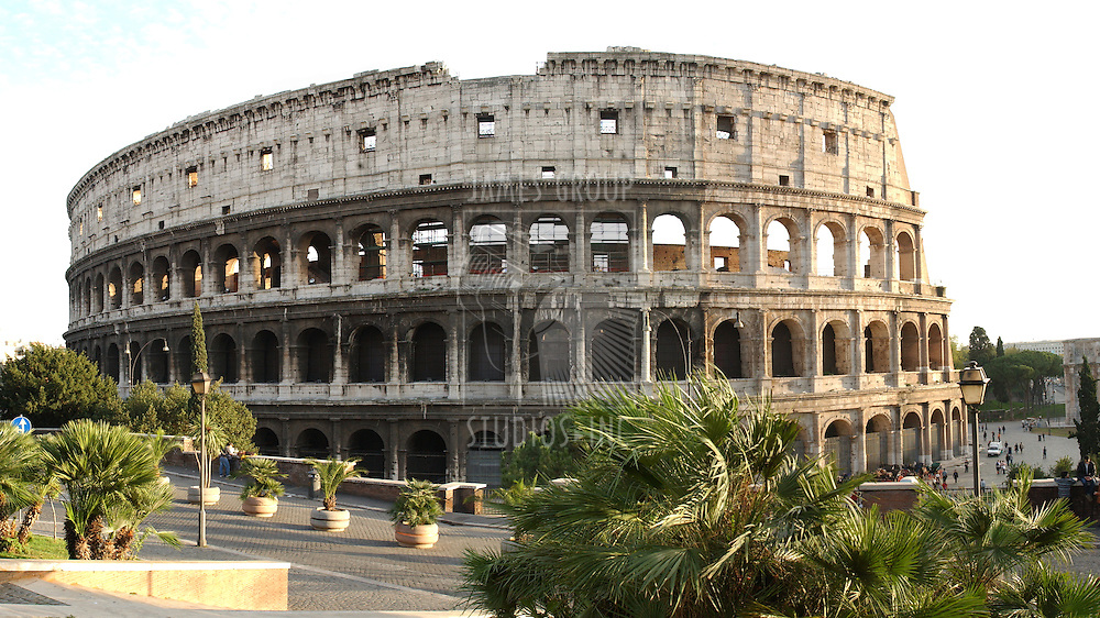 Roman colliseum in Italy