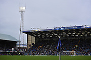 A gloomy Fratten End ahead of the Sky Bet League 2 match between Portsmouth and Mansfield Town at Fratton Park, Portsmouth, England on 24 October 2015. Photo by Michael Hulf.