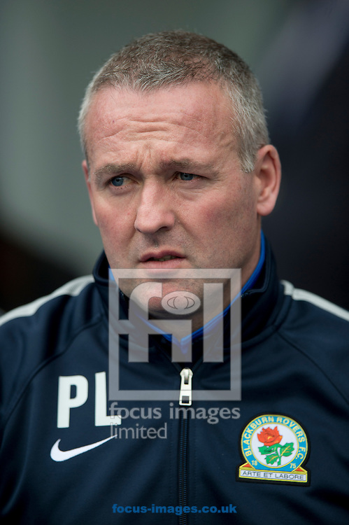 Blackburn Rovers manager Paul Lambert before the FA Cup match at Ewood Park, Blackburn<br /> Picture by Russell Hart/Focus Images Ltd 07791 688 420<br /> 21/02/2016