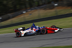 April 20, 2018 - Birmingham, Alabama, United States of America - April 20, 2018 - Birmingham, Alabama, USA: TONY KANAAN (14) of Brazil takes to the track to practice for the Honda Grand Prix of Alabama at Barber Motorsports Park in Birmingham, Alabama. (Credit Image: © Justin R. Noe Asp Inc/ASP via ZUMA Wire)