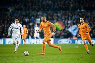Benzema of Real Madrid during the UEFA Champions League match against FC Copenhagen at the Parken Stadium. Photo: © Ricardo Ramirez.