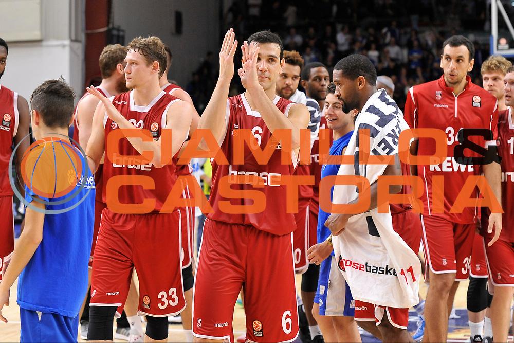 DESCRIZIONE : Eurolega Euroleague 2015/16 Group D Dinamo Banco di Sardegna Sassari - Brose Basket Bamberg<br /> GIOCATORE : Nikos Zisis<br /> CATEGORIA : Postgame Ritratto Esultanza<br /> SQUADRA : Brose Basket Bamberg<br /> EVENTO : Eurolega Euroleague 2015/2016<br /> GARA : Dinamo Banco di Sardegna Sassari - Brose Basket Bamberg<br /> DATA : 13/11/2015<br /> SPORT : Pallacanestro <br /> AUTORE : Agenzia Ciamillo-Castoria/C.Atzori