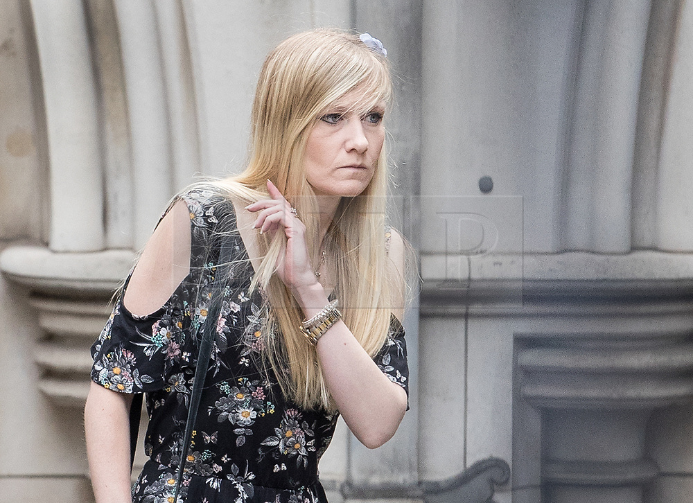 © Licensed to London News Pictures. 26/07/2017. London, UK. CONNIE YATES arrives at The The Royal Courts of Justice in London . The parents of terminally ill Charlie Gard have returned to court in an attempt to take their terminally ill son home to die rather than ending his life in hospital. The court ruled that Charlie, who suffers from a rare genetic condition known as mitochondrial DNA depletion syndrome, should not be taken to US for further treatment. Photo credit: Peter Macdiarmid/LNP