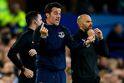 Everton manager Marco Silva and Rotherham United manager Paul Warne - Mandatory by-line: Robbie Stephenson/JMP - 29/08/2018 - FOOTBALL - Goodison Park - Liverpool, England - Everton v Rotherham United - Carabao Cup