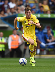 Sam Gallagher of Milton Keynes Dons - Mandatory by-line: Paul Knight/JMP - Mobile: 07966 386802 - 22/08/2015 -  FOOTBALL - Madejski Stadium - Reading, England -  Reading v MK Dons - Sky Bet Championship