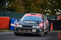 #61 Peter Hedges / Michelle Brooks-Olpin Mitsubishi Evo 6  BLMCC / EMCOS Mgm motor components. Stroudduring Neil Howard Memorial Stage Rally, and opening round of the 2015 Motorsport News Rally Championship.  at Oulton Park, Little Budworth, Cheshire, United Kingdom. November 07 2015. World Copyright Peter Taylor. Copy of publication required for printed pictures.  Every used picture is fee-liable. http://archive.petertaylor-photographic.co.uk