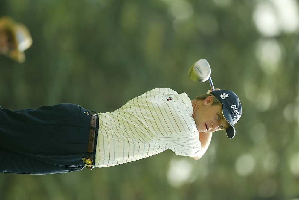 David Toms..2003 PGA Championship..Second Round..Oak Hill CC..Rochester, NY..Friday, August 15 2003..photograph by Darren Carroll