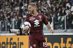 May 3, 2019 - Turin, Piedmont, Italy - Cristian Ansaldi (Torino FC) during the Serie A football match between Juventus FC and Torino FC at Allianz Stadium on May 03, 2019 in Turin, Italy..Final results: 1-1. (Credit Image: © Massimiliano Ferraro/NurPhoto via ZUMA Press)