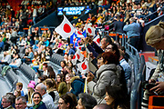 Toeschouwers Japan<br /> FEI World Cup Final Gothenburg 2019<br /> &copy; DigiShots