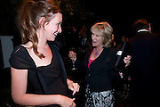KATE GOLDSMITH; ANNABEL ELLIOT, The Ormeley dinner in aid of the Ecology Trust and the Aspinall Foundation. Ormeley Lodge. Richmond. London. 29 April 2009