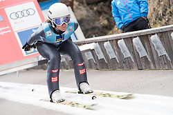 February 8, 2019 - Marita Kramer of Austria on first competition day of the FIS Ski Jumping World Cup Ladies Ljubno on February 8, 2019 in Ljubno, Slovenia. (Credit Image: © Rok Rakun/Pacific Press via ZUMA Wire)