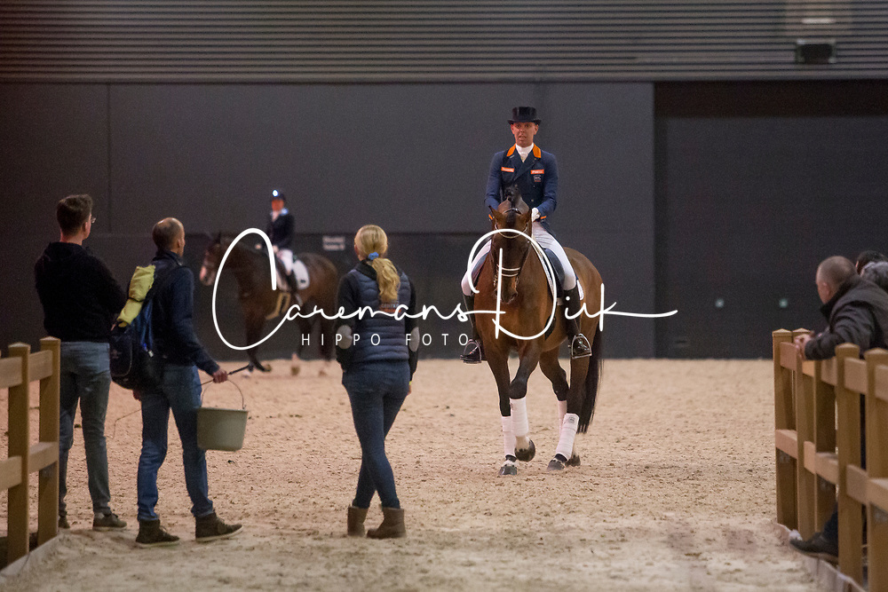 Minderhoud Hans Peter, NED, Glock's Johnson TN<br /> KWPN Stallion Show 2019<br /> © Hippo Foto - Sharon Vandeput<br /> 1/02/19