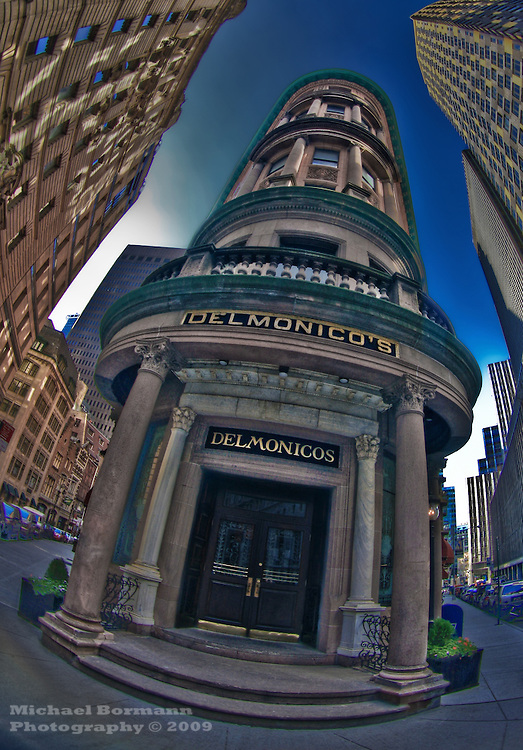 New York, Financial District, Delmonico's; restaurant, Downtown, NY