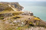Sea view from Tout Quarry, west coast of Isle of Portland, Dorset, England